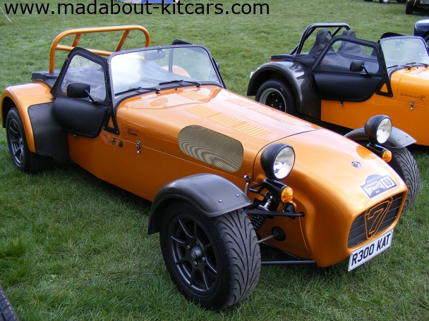 Caterham cars - Superlight R300. At Detling kit car show 2008