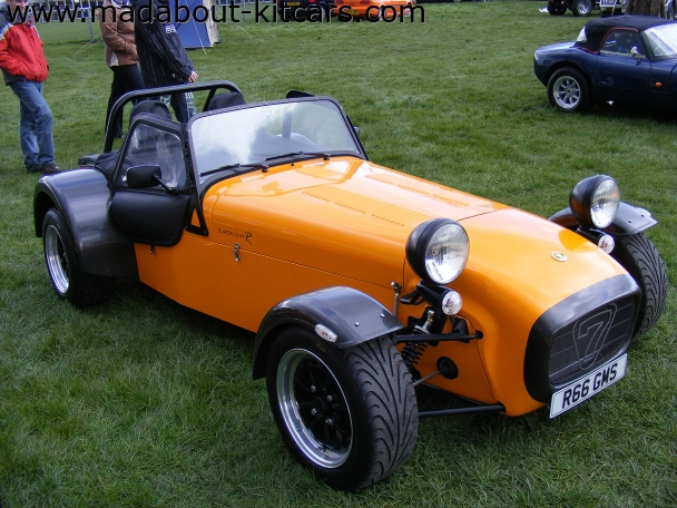 Caterham cars - Superlight R300. Badged as Superlight R