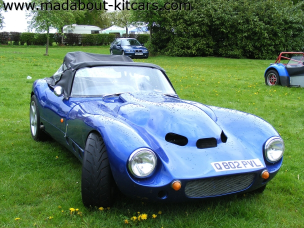 Fisher sportscars - Fury. Big bonnet buldge