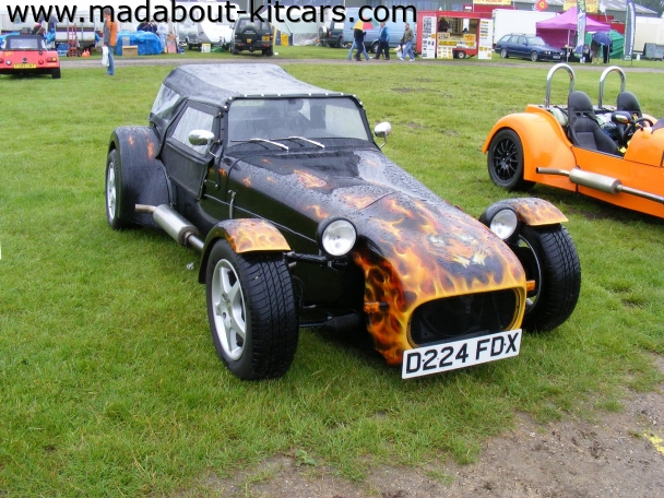 Tiger Sportscars - Cat E1. Flamed Tiger Cat E1