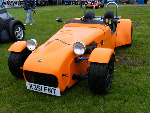 Tiger Sportscars - Cat E1. At Newark kit car show 2008