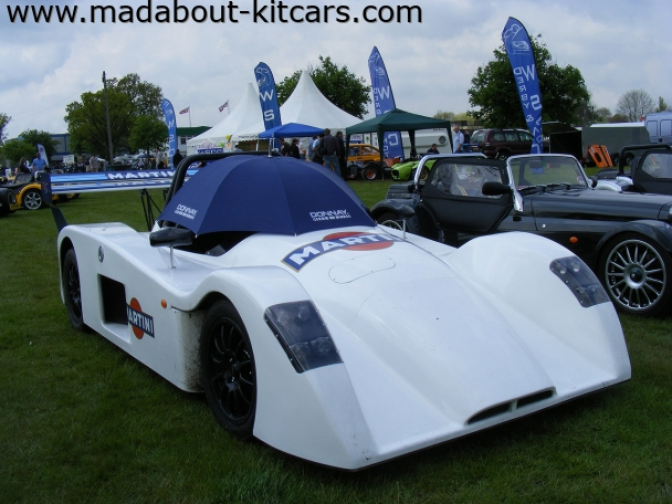 Westfield Sports Cars Ltd - XTR2. XTR2 on Westfield Club stand