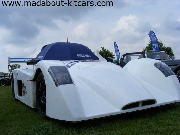 Westfield Sports Cars Ltd - XTR2. Close up front view