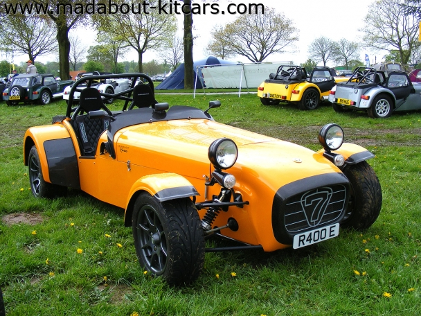 Caterham cars - R400. R400 at Stoneleigh 2008