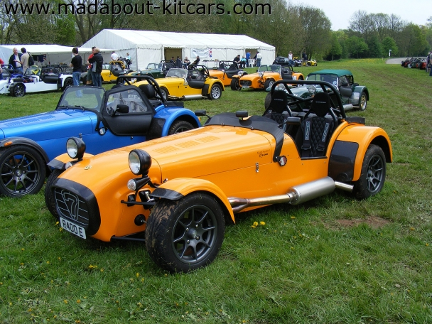 Caterham cars - R400. Superlight R400