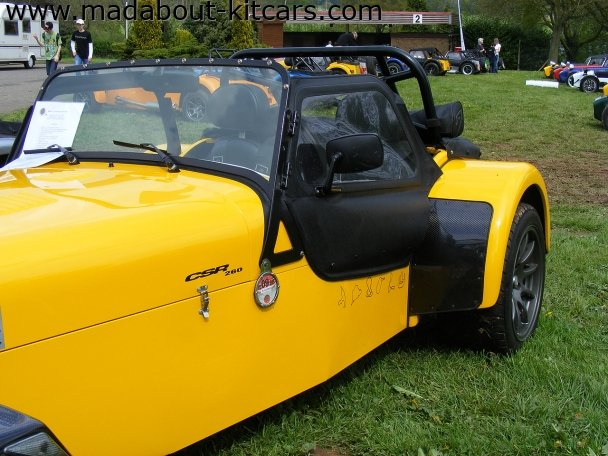 Caterham cars - CSR. Circuits to do or done