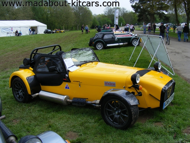Caterham cars - CSR. Side view of CSR260