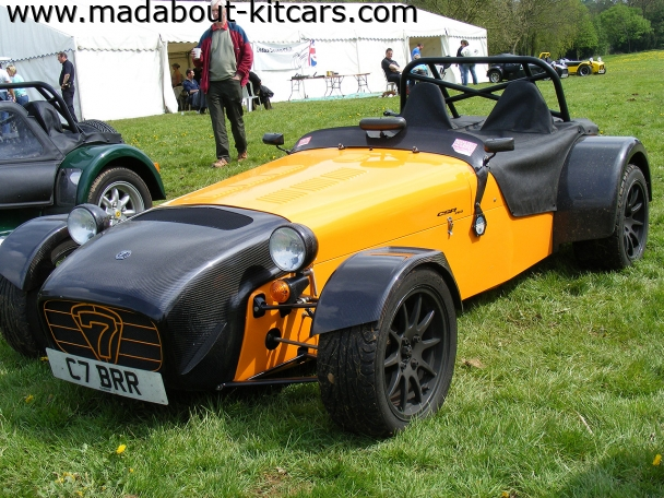 Caterham cars - CSR. Track performance oriented
