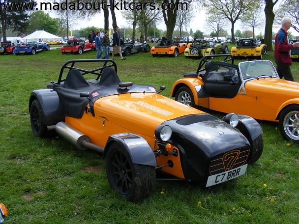Caterham cars - CSR. Nice showing at Stoneleigh