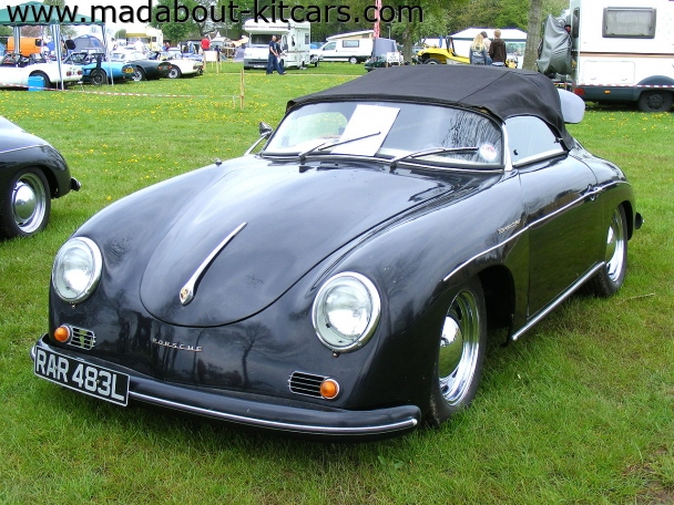 Martin and Walker - Technic Speedster. 356 Technic Speedster