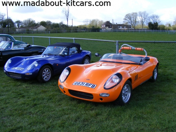 Fisher sportscars - Fury. same pair with the sun out