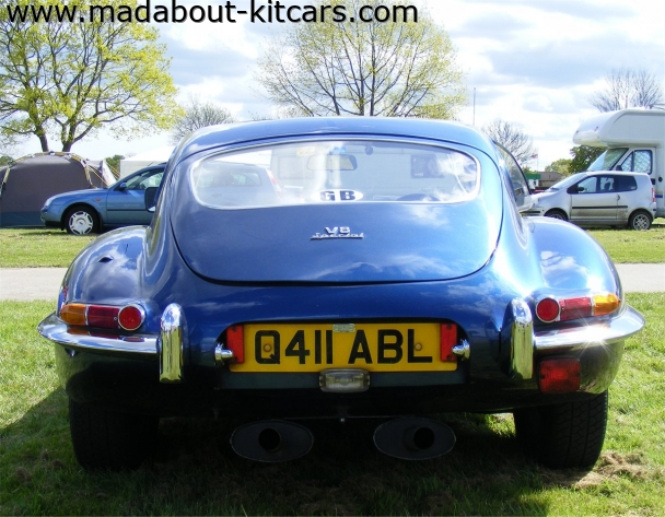 JPR Cars Ltd - Wildcat Coupe. Coupe rear