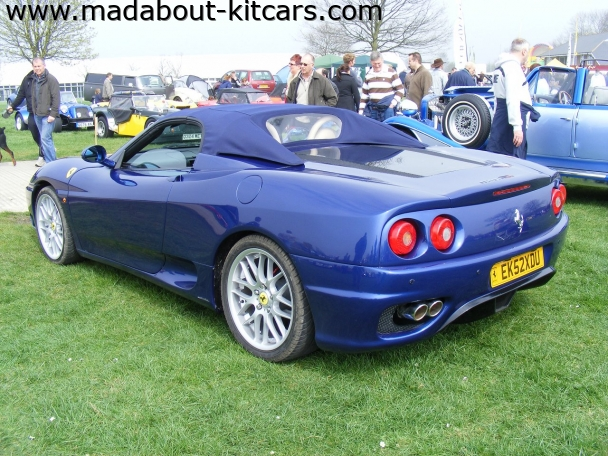 DNA Automotive - 3Sixty. At Detling 2009 kit car show