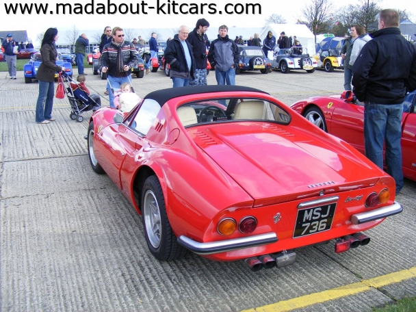 Deon - Scoperto. At Detling 2008 kit car show