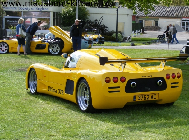 Ultima Sports Ltd - GTR. Nice in yellow on club stand