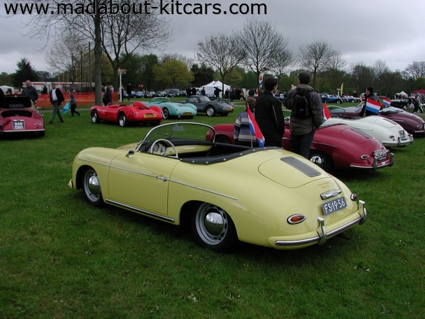 Chesil Motor Company - Speedster. Brace of speedsters