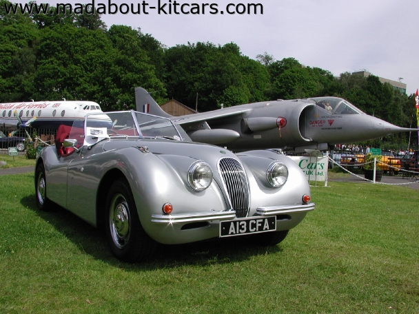 Nostalgia Cars - 120-140. On show at Brooklands