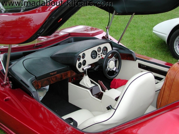 Nova Sports Cars - Nova. Lovely cream interior