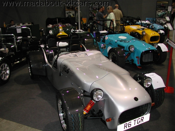 Tiger Sportscars - R6. A brace of Tigers headed by R6