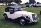 Deauville Cars - Canard. Canard showing soft top