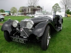 Suffolk Sportscars - SS100. Beautiful SS100 at Stoneleigh
