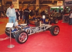 Gardner Douglas Sports Cars - GD427. GD 427 Chassis at show