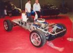 Gardner Douglas Sports Cars - GD427. Backbone chassis of GD 427
