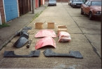 Kit bits body panels etc 1991