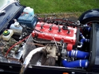 DJ sportscars - Rush. 4x4 Cosworth Engine Bay