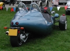 Grinnall Specialist cars - Scorpion. Rear view of Grinnall Scorpion