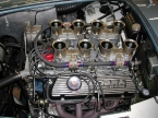 Hawk cars Ltd - Kirkham 427SC. Kirkham engine bay