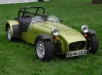 Caterham 7 at Stoneleigh