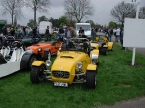 MK Sportscars - MK Indy. Small selection on club stand