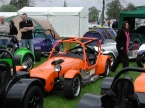 Full roll cage on this MK Indy