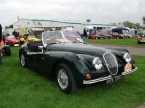 Nostalgia Cars - 120-140. Nostalgia XK at Stoneleigh