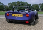 Fisher sportscars - Fury. Rear shot of Fury Spyder