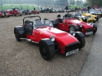 Tiger line up at Brands