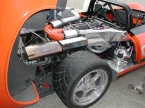 Gardner Douglas Sports Cars - GD T70. The business end