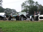Caterham cars - Super 7. Having a rest