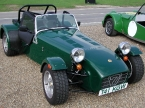 Caterham cars - Super 7. Any color as long as its green