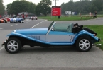 Javelin Sports Cars - Cabrio. Side profile of Marlin Cabrio