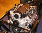 Gardner Douglas Sports Cars - GD427. Corvette engine install