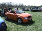 Paul Banham Conversions - X21. Orange X21 with Targa roof