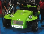 Quantum Sports Cars Ltd - Sunrunner. Green demo car