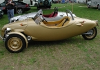 Blackjack Cars - Blackjack Avion. Lovely gold Avion side view