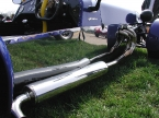 Luego Sports Cars - Viento V8. Exhaust