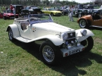 NG Sports Cars - TF. Lovely white TF at Detling 07