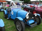 Teal Cars - Type 35. Nice period touches