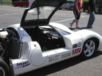 Piper Racing Cars Ltd - Piper GTR. Door up showing interior