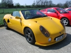 Yellow Spyder with front skirt